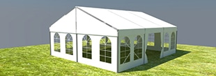 Small Beam Clearspan Tents