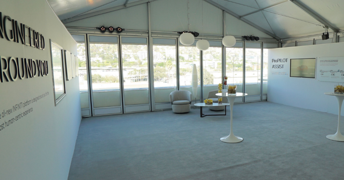 Retail Tent Space
